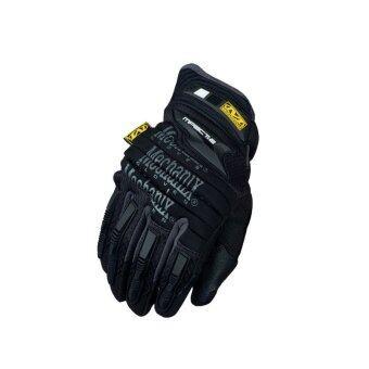 Mechanixถุงมือถุงมือพวกทหารทางยุทธวิธีกองทัพมอเตอร์ไซค์แข่งมอเตอร์ไซค์ถุงมือสีดำ