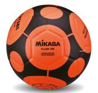 MIKASA ฟุตซอล เบอร์ 3.5 รุ่น FLL400 - สีส้ม/ดำ