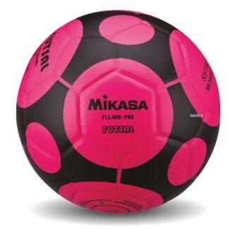 ซื้อ/ขาย MIKASA ฟุตซอล เบอร์ 3.5 รุ่น FLL400 - สีชมพู/ดำ