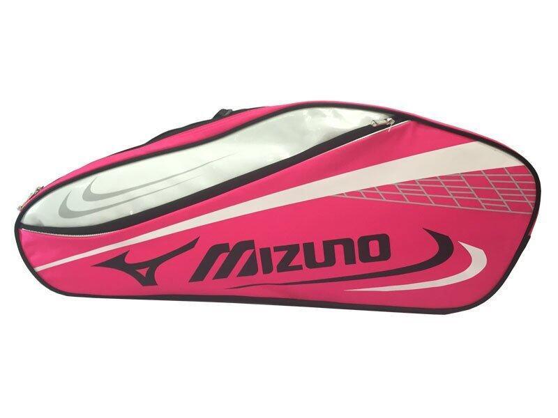 MIZUNO กระเป๋าแบดมินตัน (สีชมพู)