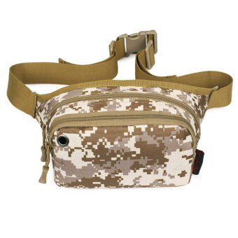 Molle Camo Military Tactical Rucksacks Trekking Waist Bag - intl