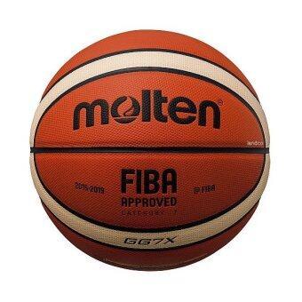 MOLTEN บาสเก็ตบอล หนังอัด มอลเทน Basketball PU MOLTEN BGG7X FIBA