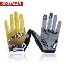 MYSENLAN sc02 สำหรับผู้ชายและผู้หญิงในช่วงฤดูร้อนจักรยานเสือภูเขาขี่ถุงมือนิ้วยาวจักรยานถุงมือ