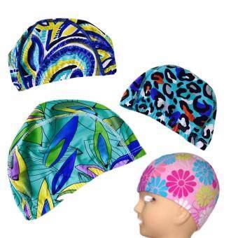 Namita หมวกว่ายน้ำเด็กโต คละลาย