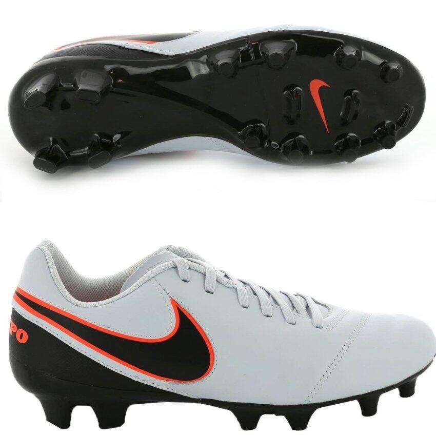 ขายถูก NIKE รองเท้าหนัง ฟุตบอล ไนกี้ Football Shoes Tiempo Genio2 LT FG 819213-001 (2800)