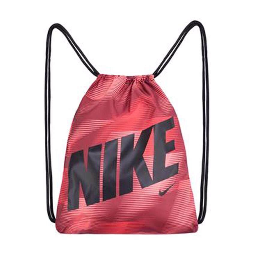 check ราคา NIKE กระเป๋า สะพาย หูรูด ไนกี้ Gymbag Graphic BA5262-674 R(520)