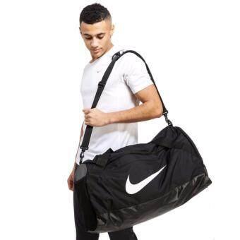 ซื้อ/ขาย NIKE กระเป๋าฟิตเนสผู้ชาย NIKE BRASILIA ลิขสิทธิ์แท้ สี BLACK