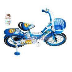 """จักรยานเด็ก No.5510 12"""" สีฟ้า"""