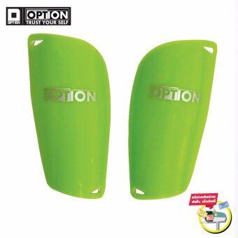 2561 สนับแข้ง Option Shinguards สีเขียว ไซต์ S