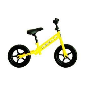 จักรยานทรงตัวเด็ก OSAKA BABY TIGER EDITION สีเหลือง