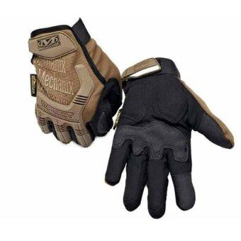 PARBUF ถุงมือ MECHANIX เต็มนิ้ว ถุงมือฟิตเนส จักรยาน ถุงมือขับรถSIZE XL G.031
