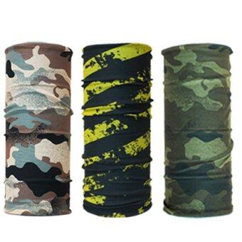 Parbuf ผ้าอเนกประสงค์ ป้องกัน UV ผ้าโพกหัว ผ้าพันคอ 3 ผืน Set 61
