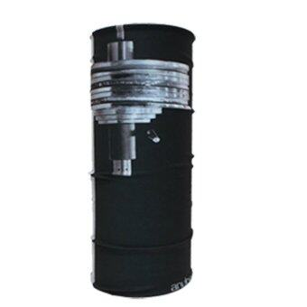 PARBUF ผ้าบัฟ ป้องกัน UV ผ้าโพกหัว เนื้อผ้า COOL-MAX รุ่นเย็นป้องกัน UV80+ 008 (สีดำ)