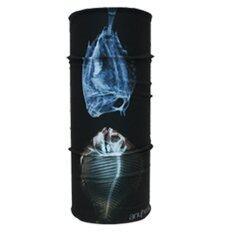 PARBUF ผ้าบัฟ ป้องกัน UV ผ้าโพกหัว เนื้อผ้า COOL-MAX รุ่นเย็น ป้องกัน UV80+ 011 (สีดำ)
