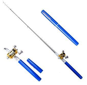 Pen Fishing Rod เบ็ดปากกา สีน้ำเงิน