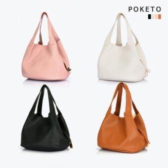 [POKETO] BigIrene Tote Bag + Pouch Bags PWH4717- Korea Official Goods - intl