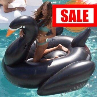 ประเทศไทย POOL FLOAT Swan Black Pool Swimming Float Adult and Kid Tube Raft Kid Summer Water Fun Pool Toy ห่วงยาง แพยาง เรือยาง ห่วงยางแฟนซี แพยางแฟนซี ห่าน หงส์ สีดำ เรือยางเป่าลม ขนาดใหญ่