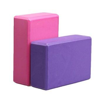 Portable Yoga Block Brick Foaming Foam Home Exercise PracticeFitness Sport New - intl