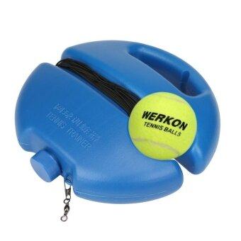 Premium Tennis Ball Singles Training Practice Balls Back Base Trainer Tools and Tennis - intl