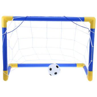 ฟุตบอลฟุตบอลหลังตาข่ายประตูมินิเซ็ต