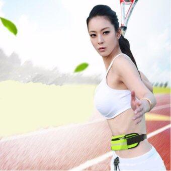 ซื้อ/ขาย กระเป๋าคาดเอวยืดได้ ใส่วิ่ง ออกกำลังกาย เล่นกีฬา กันน้ำ+มีช่องสอดหูฟัง- สีดำ