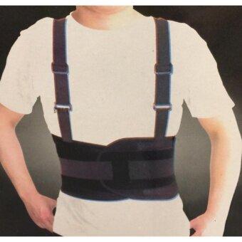 เข็มขัดพยุงหลัง เสื้อดามหลัง ซัพพอร์ตหลัง ปรับสรีระ ที่รัดหลัง ลดอาการปวดหลัง- สีดำ