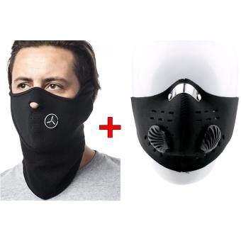 ผ้าปิดจมูก ปิดปาก หน้ากากกันฝุ่น กันแดด ขี่จักรยาน ขี่มอเตอร์ไซต์