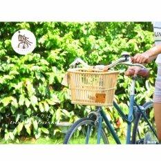 ตะกร้าหวายจักรยาน บีบี.ไบค์บาสเก็ต รุ่น ฟร้อนท์