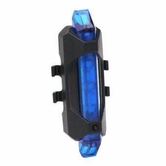 ไฟท้ายจักรยาน Rapid X สีน้ำเงิน (USB)