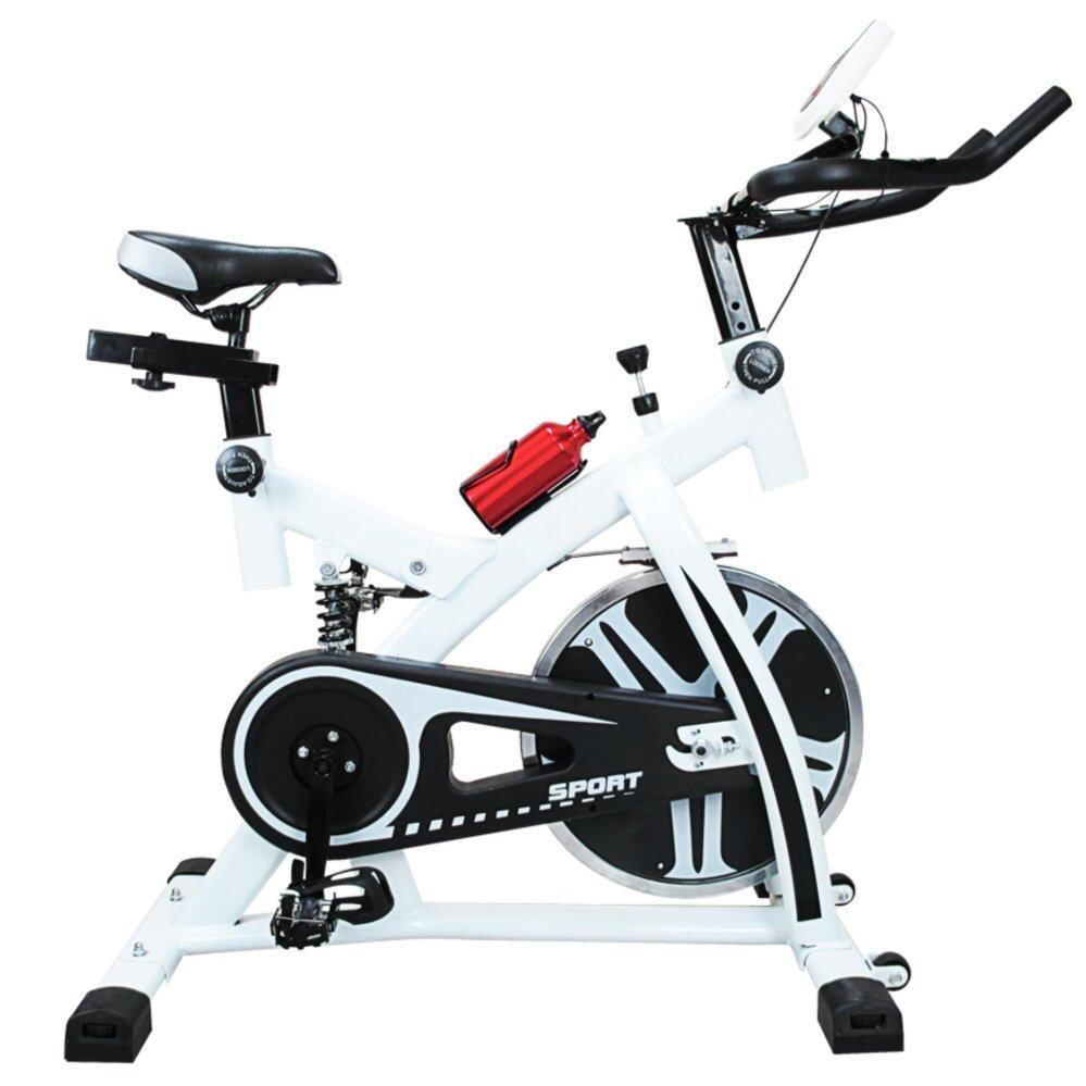 ซ่อม Replica Shop จักรยานออกกำลังกาย  จักรยาน  เครื่องออกกำลังกาย  อุปกรณ์ออกกำลังกาย  Ex Spinning Bike Plus รุ่น S-305 (สีขาว)