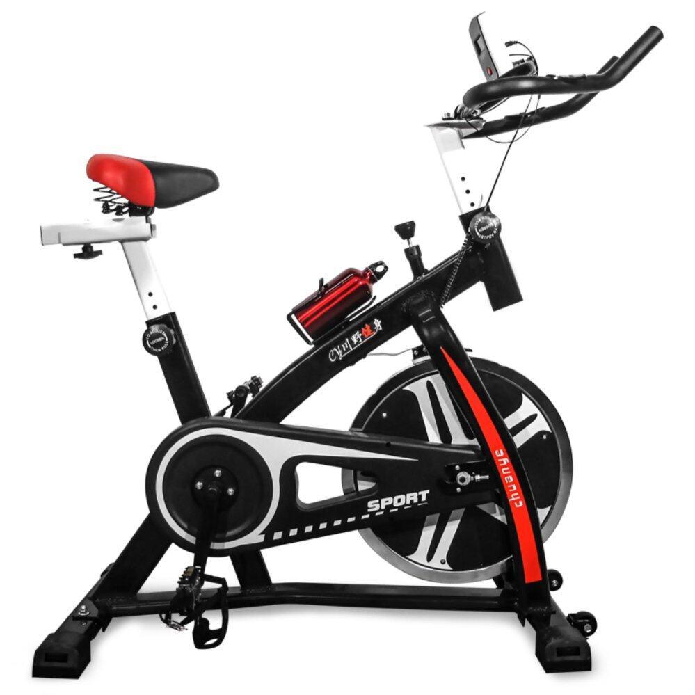 สอนใช้งาน Replica Shop จักรยานออกกำลังกาย  จักรยาน  เครื่องออกกำลังกาย  อุปกรณ์ออกกำลังกาย Ex Spinning Bike (สีดำ)