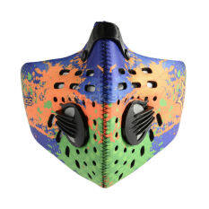 ROCKBROS Cycling Anti-dust Half Face Mask with Filter Neoprene Orange Color