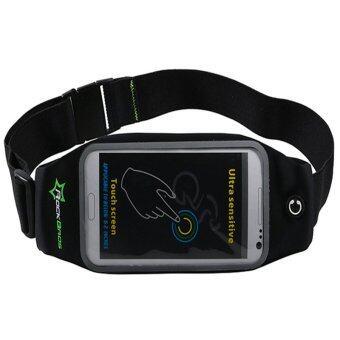 ขาย RockBros Sports Bags Running Pocket Belt Case Phone Holder CyclingWalking Bag 6.0 Black