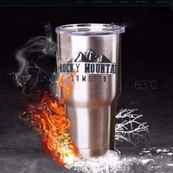 แก้วเก็บความเย็น แก้วเก็บอุณหภูมิ แก้วสูญญากาศ Rocky Mountain 30 OZ. (850ml.) Yeti - 4