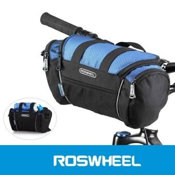 Roswheel 5ลิตรจักรยานยางหน้ากระเป๋า (สีน้ำเงิน)