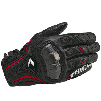 RS-TAICHI RST390 Hot Selling Cool Motorcycle Gloves black with Red - 2