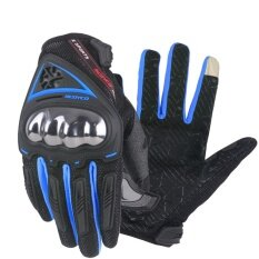 SCOYCO Motorcycle Gloves Summer Breathable Wearable Protective Outdoor Sports Full Finger Riding Glove Motocross Guantes Cycling Gloves MC44 - intl