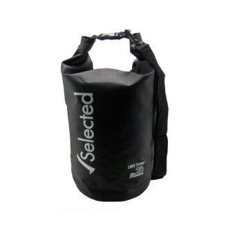 Selected กระเป๋ากันน้ำ ความจุ 20 ลิตร ( สีดำ )