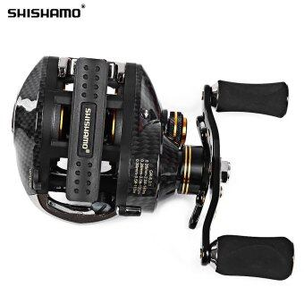Shishamo LB200 Left Hand Right Hand Fishing Bait Casting Reel with One Way Clutch
