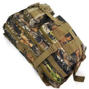 ซื้อ/ขาย Silver Knight Tas Ransel ARMY BAG 3P (Leave Camouflage) Backpack Camping กระเป๋าเดินป่าขนาดกลาง ช่องใส่ของและเสื้อผ้าจุถึง 4 ช่อง