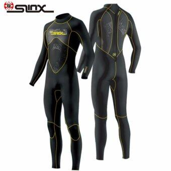 Slinx Scuba One Piece Diving Wetsuit 3mm Suits for Men NeopreneSwimming Surfing Wet Suit Swimsuit Equipment Jumpsuit Full Bodysuit- intl