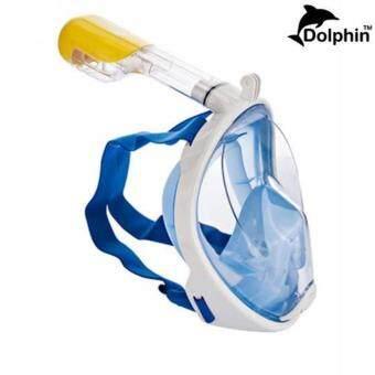 Snorker หน้ากากดำน้ำตื้น น้ำลึก หายใจทางจมูกได้ขณะดำน้ำ มีฐานติดกล้อง Gopro รุ่น DP01N ไซต์ (L/XL)