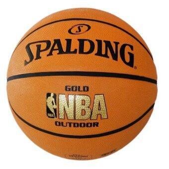 2561 ลูกบาสยาง Spalding รุ่น NBA Gold outdoor