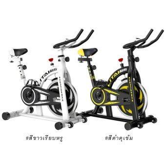Spint เครื่องปั่นจักรยานออกกําลังกาย Exercise Spin bike รุ่น LITAI- สีดำ - 2