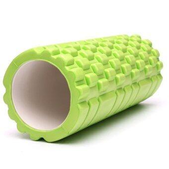 Spint โฟมโยคะ ลูกกลิ้งโยคะ Yoga Foam Roller Massage & FoamRoller (สีเขียว)