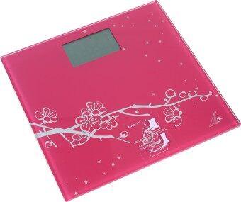 SPORTLAND เครื่องชั่ง Digital Scales รุ่น EB9323-S123 ( Pink Flower )
