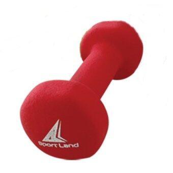 SPORTLAND ������������������ Neoprene Dumbbell Rubber 2 kg. ������������ IR92004 (Red)