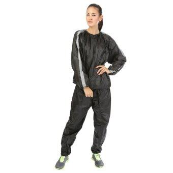 SPORTLAND ชุดซาวน่า ลดน้ำหนัก PVC Sauna suit (SPL) หนา Thick 0.14 mm.