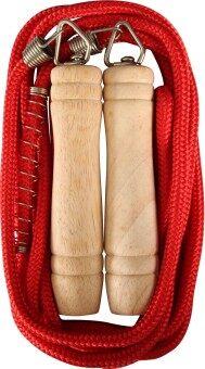 2561 SPORTLAND ZH1009 เชือกกระโดด สำหรับผู้ใหญ่ Jump Rope With Spring SPL CCL8mm.L305cm.L - Red