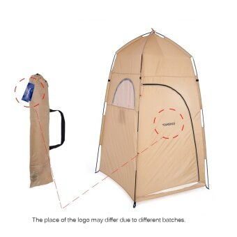 Sports Outdoors Tents Tomshoo Portable Outdoor Shower Bath Changing Fitting Room Tent Shelter Camping Beach Privacy Toilet - intl - 4